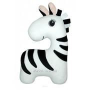 Детская подушка подголовник-игрушка `Зебра` фото