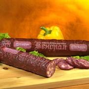 Варено-копченые колбасы фото