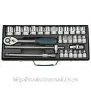 Универсальный набор торцевых головок kraftool industrie qualitat 27892-h28 фото