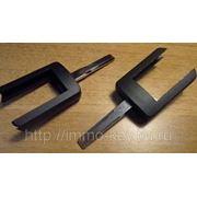 Ключ для ремоута Опель, HU43, Long фото