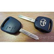 Корпус ключа зажигания для Тойота, 2 торцевые кнопки (toy43) фото