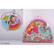 Коврик 898-23b развивающий для малышей, в сумке 77*59см (834693) фото