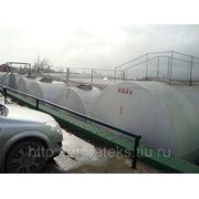 Резервуары БУ горизонтальные стальные на 75 м3 и 50 м3 в Краснодарском крае. фото
