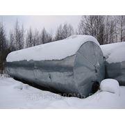 Резервуар горизонтальный РГ60 одностеный наземный с подогревом фото