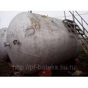 Емкости горизонтальные толстостенные (10 мм) бу 25 м3 в Краснодаре фото