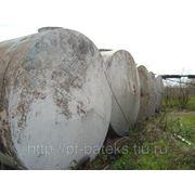 Емкости-резервуары горизонтальные стальные БУ на 50 м3 конусные фото
