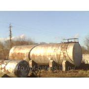 Резервуар горизонтальный стальной 75 куб. м фото