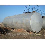 Резервуары горизонтальные стальные сварные 75 кубов БУ. фото