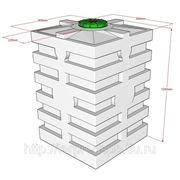 Емкости для топлива 640л Quadro-H фото