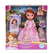 Кукла Карапуз Принцесса София 25см. озвуч. с кроликом и дневником SOFIA006 фото
