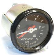 Указатель давления воздуха двухстрелочный (0 - 10) КамАЗ (кроме 4310), КрАЗ, ЗИЛ (АП) фото