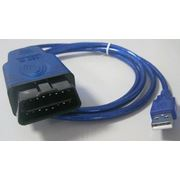 Диагностический адаптер KKL VAG-COM 409 фото