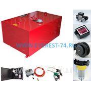Емкость для топлива металлическая, с раздаточной колонкой МТР 1000 л фото