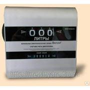 Счетчик механический В-80, 20-100л/мин ДТ, масло фото