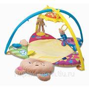 "Ковер play n""fun для малышей ""мишка"" 3 игрушки, с дугами, 85х42х56 см (821323) фото"