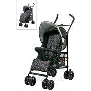 Коляска 201 Baby Comfort прогулочная красный/серый фото