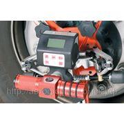 Мобильная лазерная система для регулировки углов установки колес грузового транспорта AXIS500 фото
