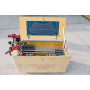 Мобильная лазерная система для регулировки углов установки колес грузового транспорта AXIS-200 фото