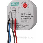 Импульсное реле с лестничным автоматом (таймером) BIS-403