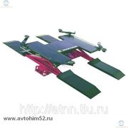 Подъемник ножничный пневматический напольный OMA 260A(OMA535A) г/п 2500 кг фото