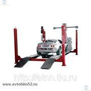 Подъемник четырехстоечный OMA 450-3D(OMA526L5) г/п 5000 кг фото