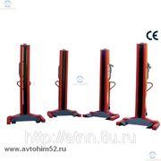 Колонны подкатные электромеханические OMA LTW1004C+4 г/п 4х10 т. фото