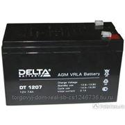 Батарея аккумуляторная Delta 7 А/ч фото