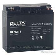 Батарея аккумуляторная Delta 18 А/ч фото