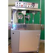 Глазировочная машина для глазировки изделий шоколадной глазурью с декоратором модель 2МР 32C фото