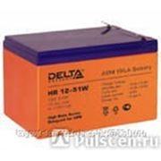 Батарея аккумуляторная Delta 12 А/ч фото