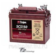 Аккумуляторная батарея TROJAN SCS150 12V 100А.ч фото