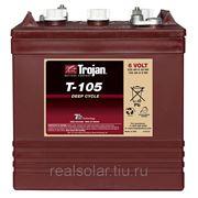 Аккумуляторная батарея TROJAN T105 6V 225А*ч Тяговая фото