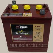 Аккумуляторная батарея TROJAN T105 RE 6V 225А*ч Тяговая фото