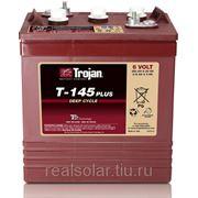 Аккумуляторная батарея TROJAN T-145 Plus 6V 260А*ч Тяговая фото