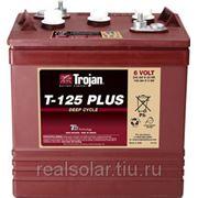 Аккумуляторная батарея TROJAN T-125 Plus 6V 240А*ч Тяговая фото