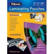 Плёнка для ламинирования Fellowes (FS-5306101) A4, 80мкм, 100шт. фото