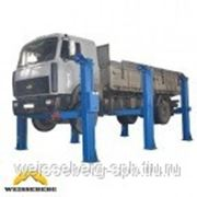 Автомобильный грузовой подъёмник ПС-16 (4 стойки) фото