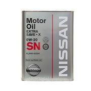 Масло моторное NISSAN EXTRA SAVE X SN 0W-20 фото