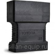 Разъем для Launch X431 - Toyota 22 pin фото