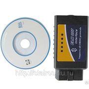 ELM 327 Bluetooth OBDII сканер. Беспроводной адаптер с поддержкой CAN ( ELM327 ) фото