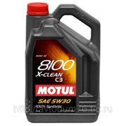Масло MOTUL 8100 X-clean 5w30 (5 л) фото