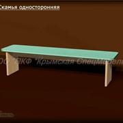 Мебель для раздевалок: Скамья односторонняя 13012