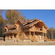 Деревянное домостроение фото
