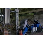 Линия дробления бумаги, полимеров, резины, древесины и пр. Weima/Herbold (Германия)