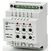 Трехфазное реле напряжения и контроля фаз РНПП-301 фото