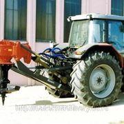 Навеска на трактор выкорчевывать пни фотография