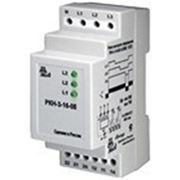 Реле контроля трехфазного напряжения для сетей с нейтралью РКН-3-20-08 АС220В фото
