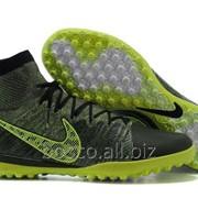 Футбольные сороконожки Nike Elastico Superfly TF Зеленый фото