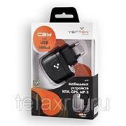 Сетевое зарядное устройство mini USB 1000mA Vertex фото