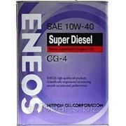 Масло моторное дизельное ENEOS SUPER DIESEL 10W40 CG-4 4л фото